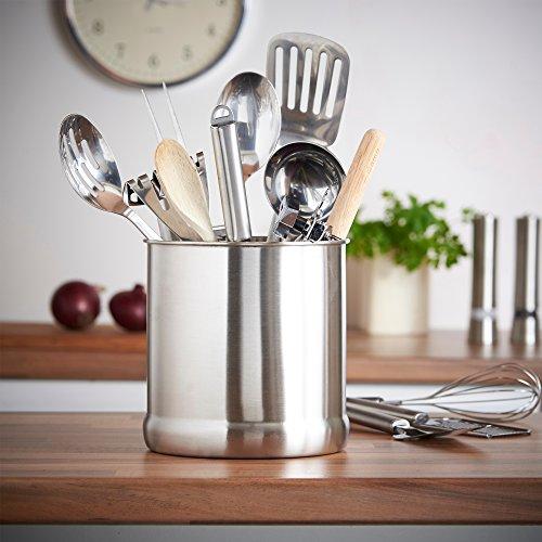 Kitchen Gadgets Stores: 7″ Stainless Steel Kitchen Utensil Holder