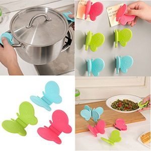 Nice Adorable Butterfly Shaped Silicone Anti Scald Device Kitchen